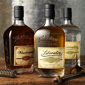 Woodward Bourbon & Liberator Gin