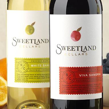 Cf Napa Brand Design Sweetland Cellars Wine Packaging