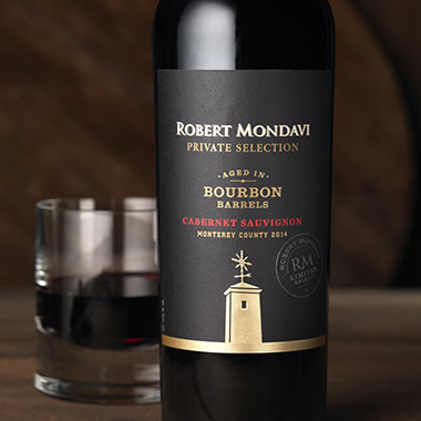 Robert Mondavi Private Selection Bourbon Barrel Aged Wine