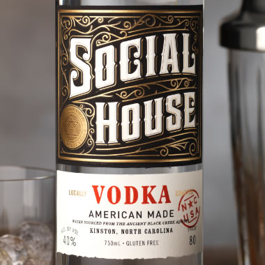 Social House Vodka
