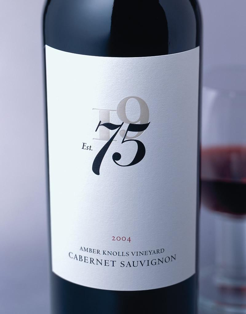 75 Wines Packaging Design & Logo