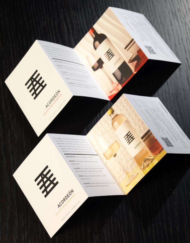 Acordeón Tasting Card Design
