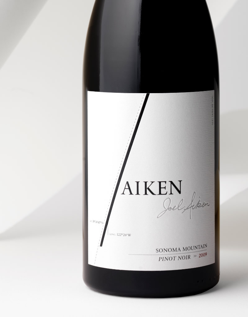 Aiken Wine Packaging Design & Logo