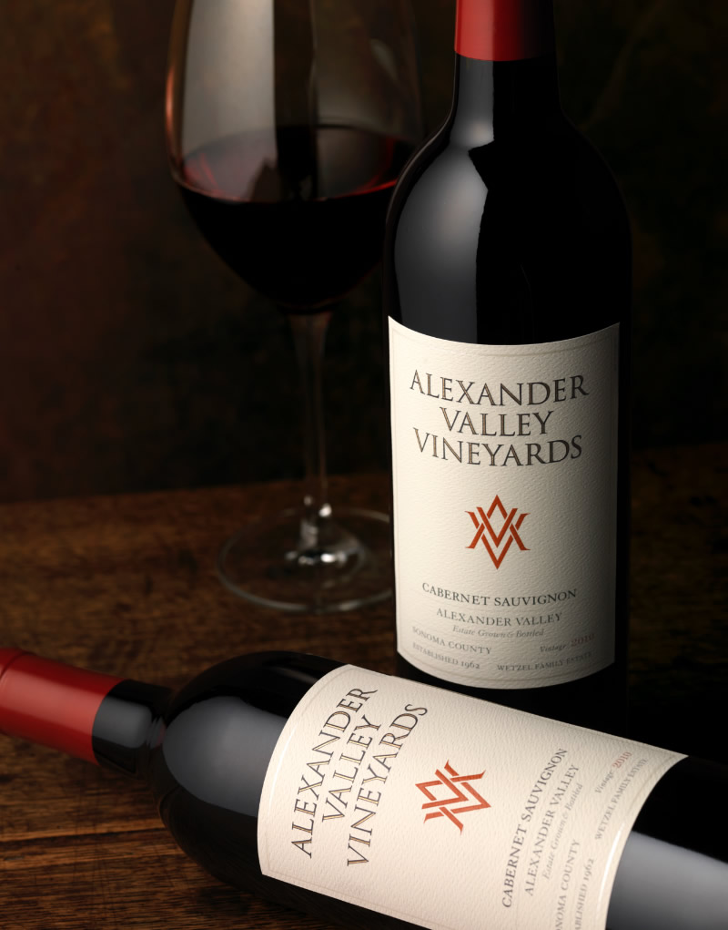 Alexander Valley Vineyards Wine Packaging Design & Logo