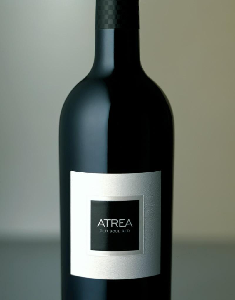 Atrea Wine Packaging Design & Logo