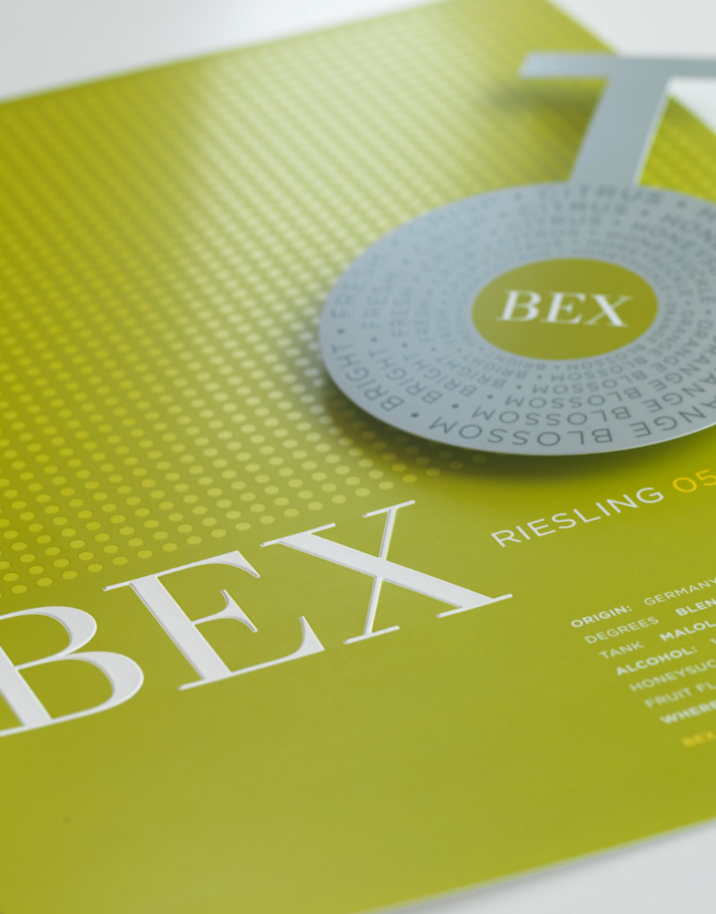 BEX Sales Sheet and Shelf Talker Design