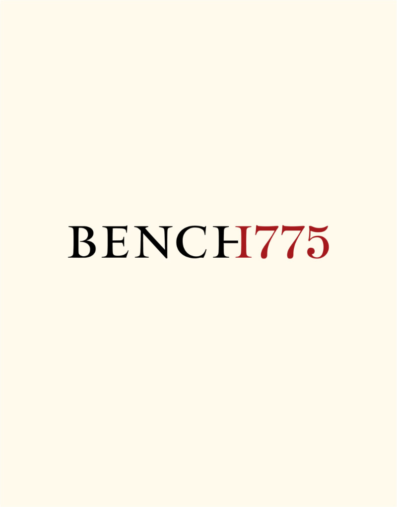 Bench 1775 Logo Design