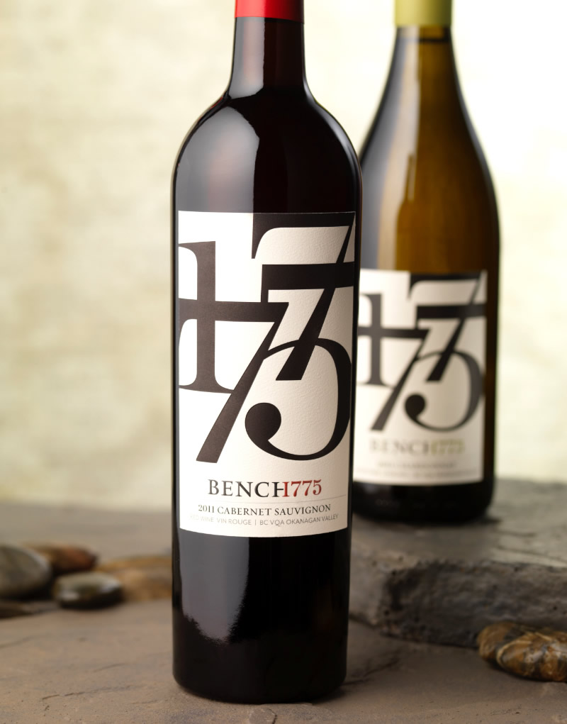 Bench 1775 Wine Packaging Design & Logo