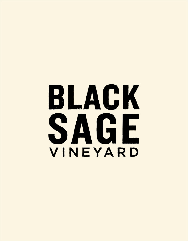 Black Sage Vineyard Logo Design