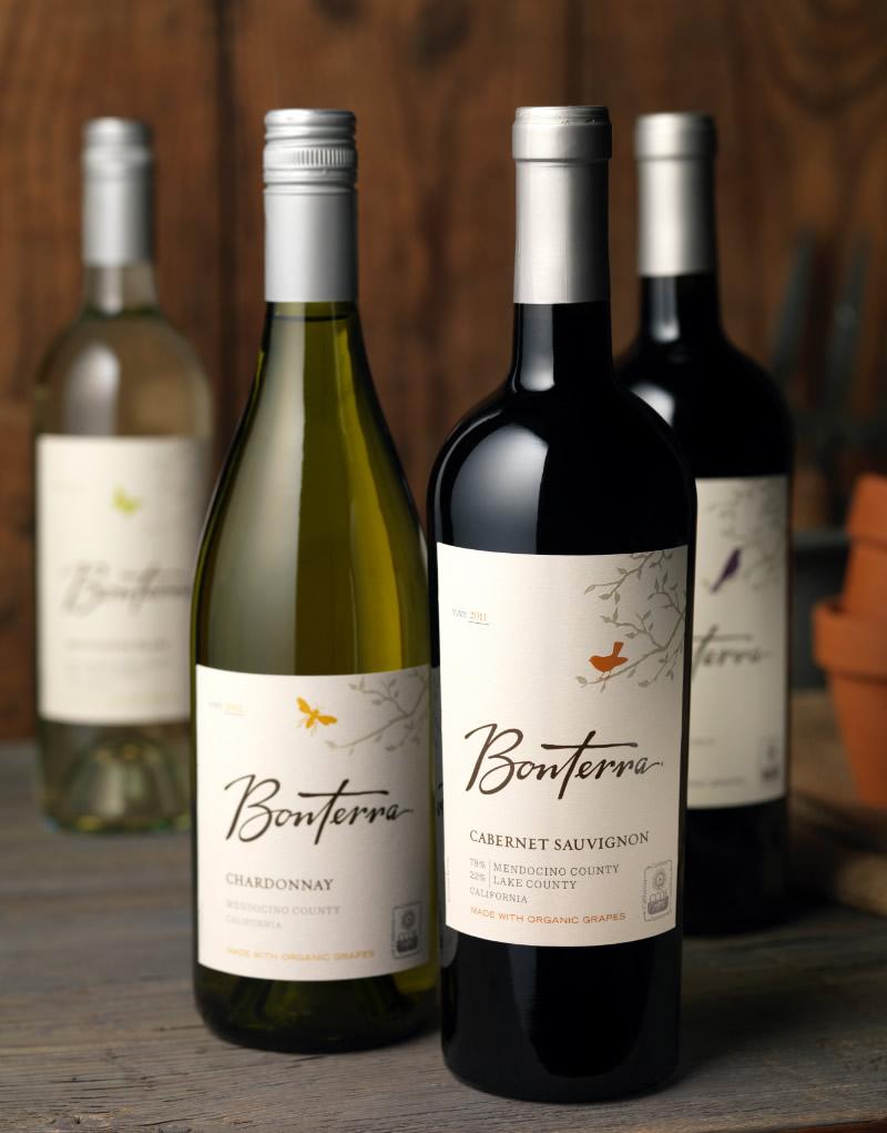 Bonterra Wine Packaging Design & Logo