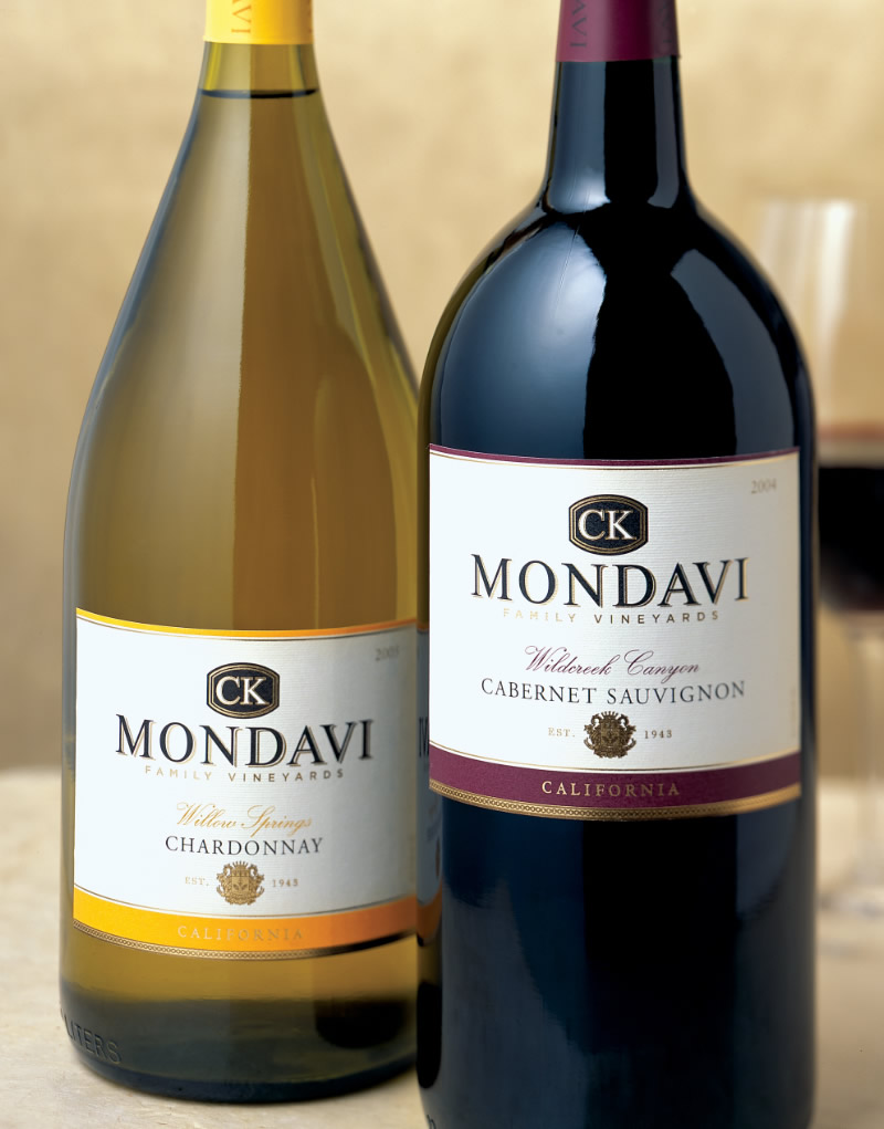 CK Mondavi Wine Packaging Design & Logo