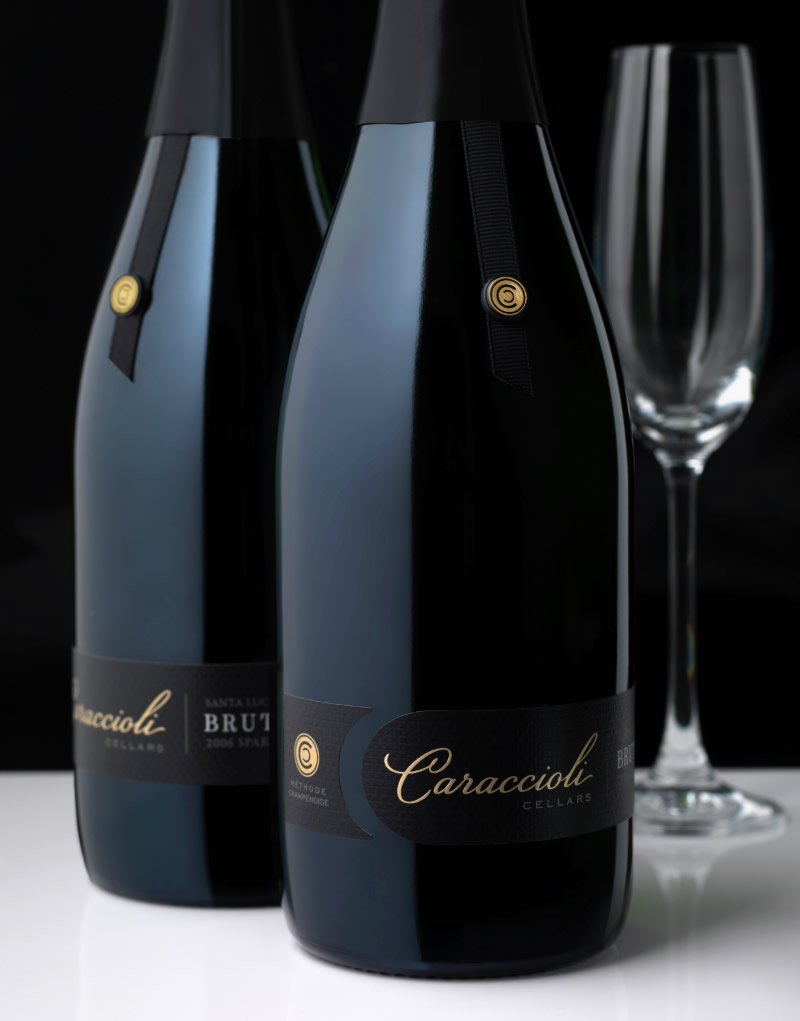 Caraccioli Cellars Wine Packaging Design & Logo Sparkling Wine