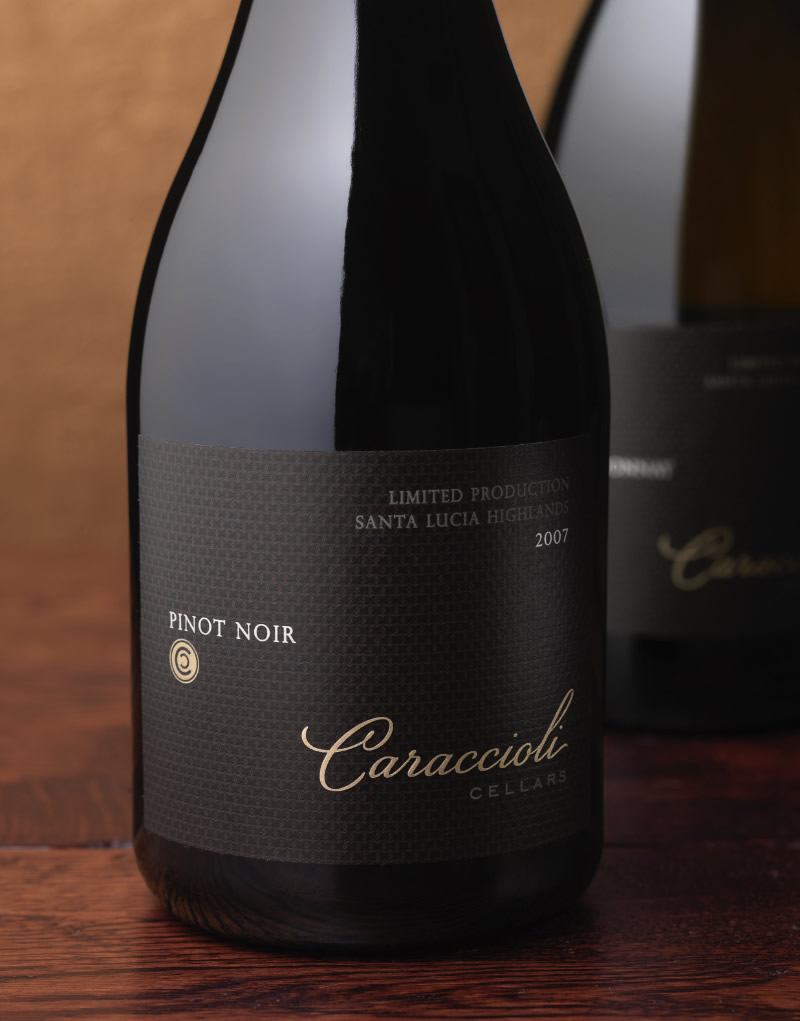 Caraccioli Cellars Wine Packaging Design & Logo