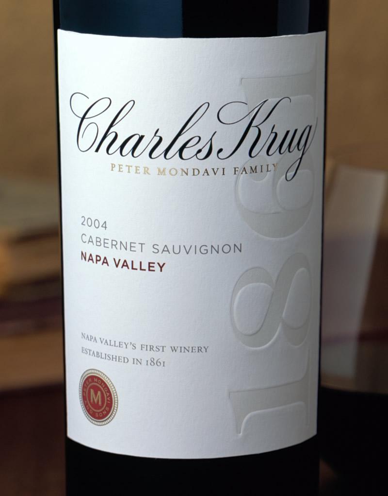 Charles Krug Wine Packaging Design & Logo