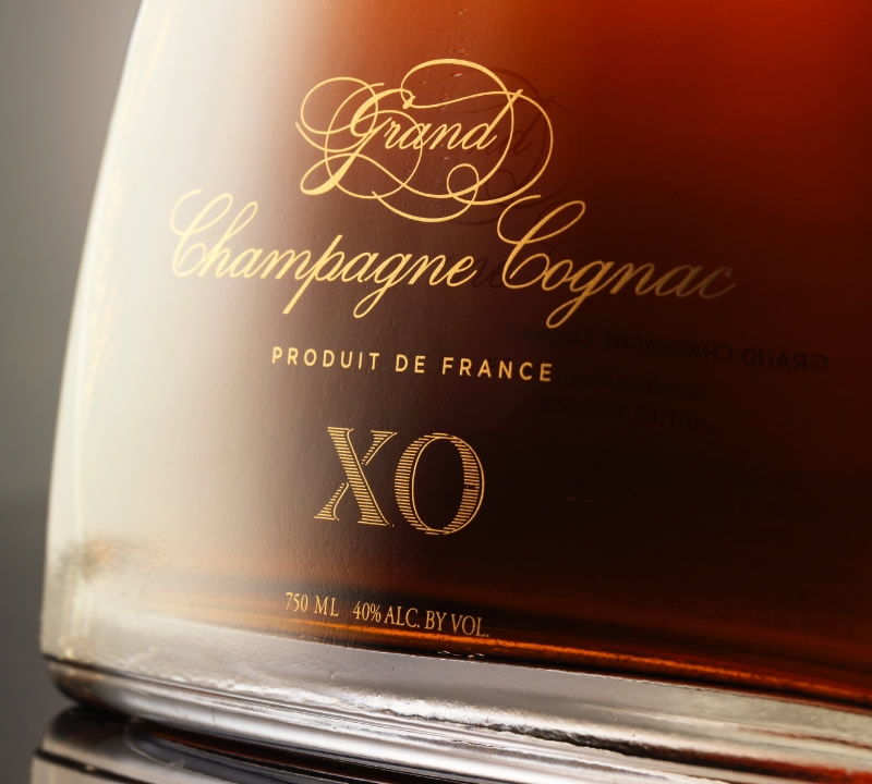 Charles Woodson Cognac Packaging Design & Bottle Detail