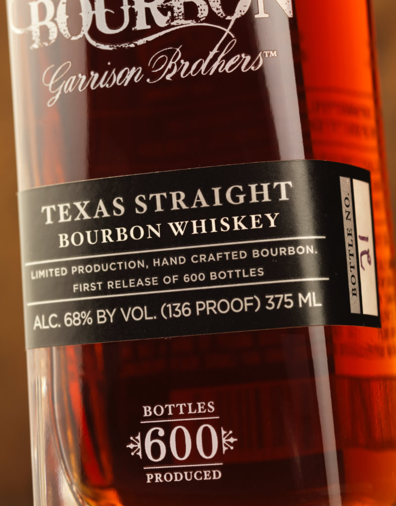 Cowboy Bourbon Packaging Design & Logo Label Detail