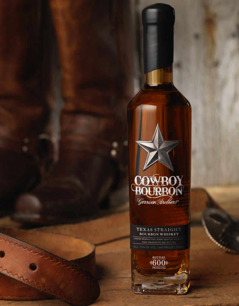 Cowboy Bourbon Packaging Design & Logo