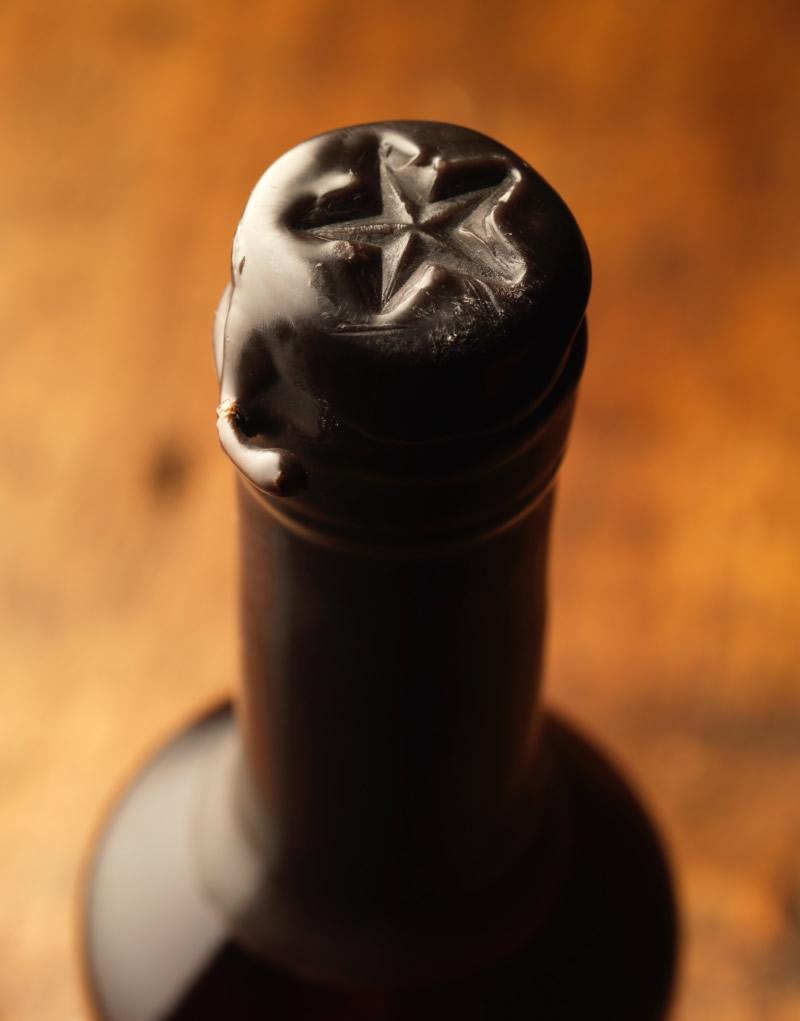 Cowboy Bourbon Packaging Design & Logo Closure Detail