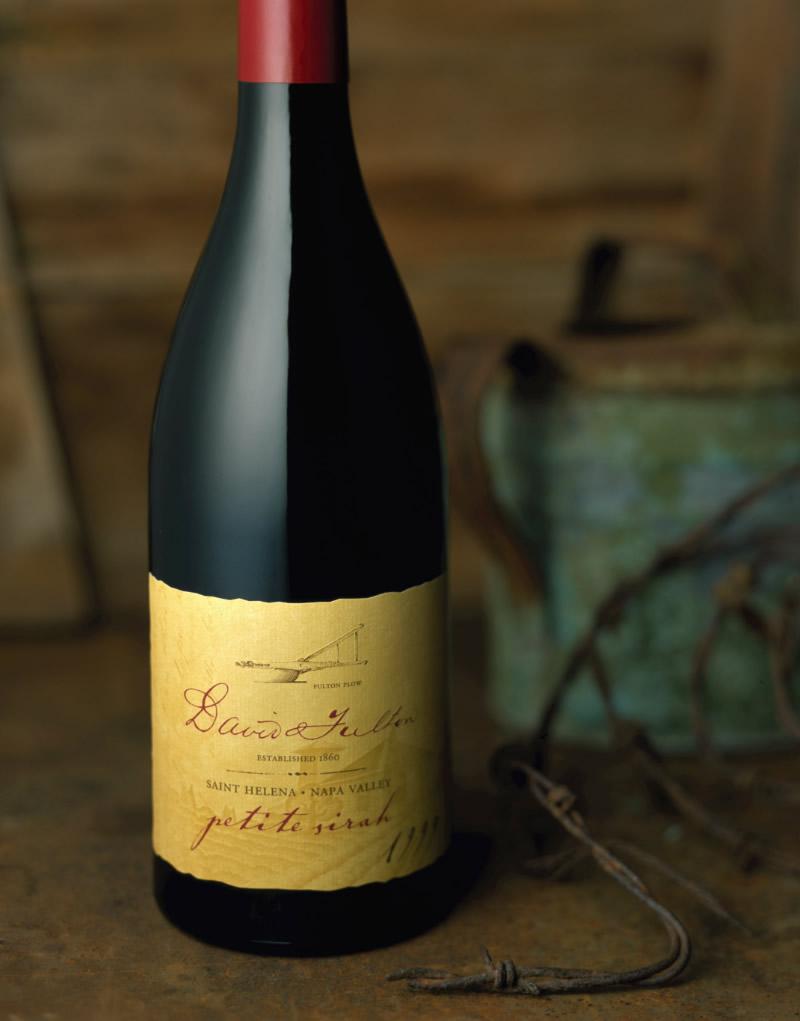David Fulton Wine Packaging Design & Logo