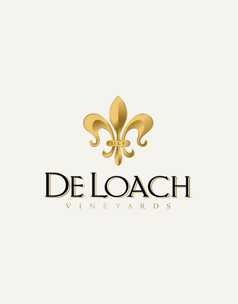 DeLoach Vineyards Logo Design