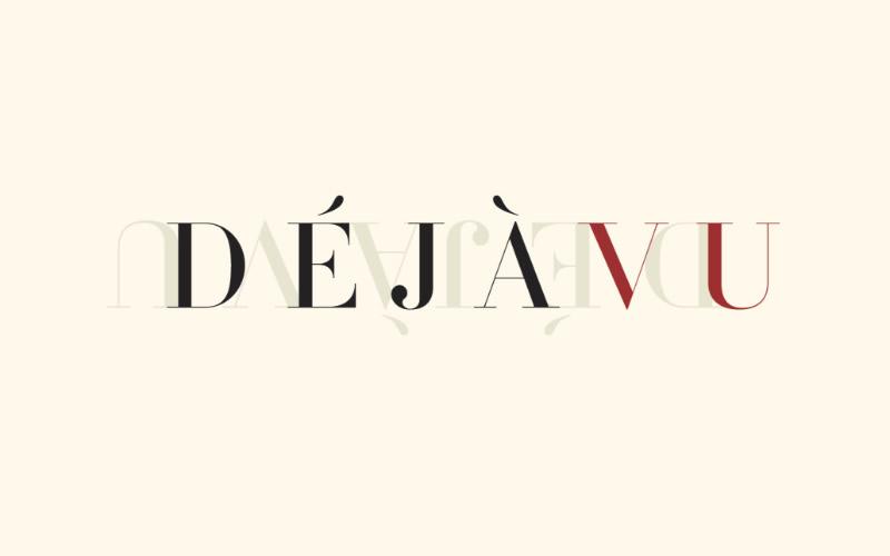 Déjà Vu Logo Design