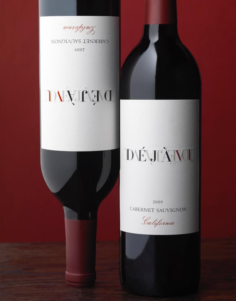 Déjà Vu Wine Packaging Design & Logo