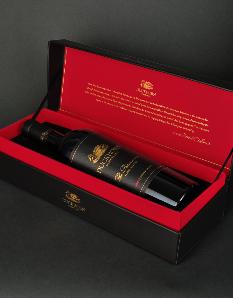 Duckhorn Wine Company The Discussion Gift Box Design