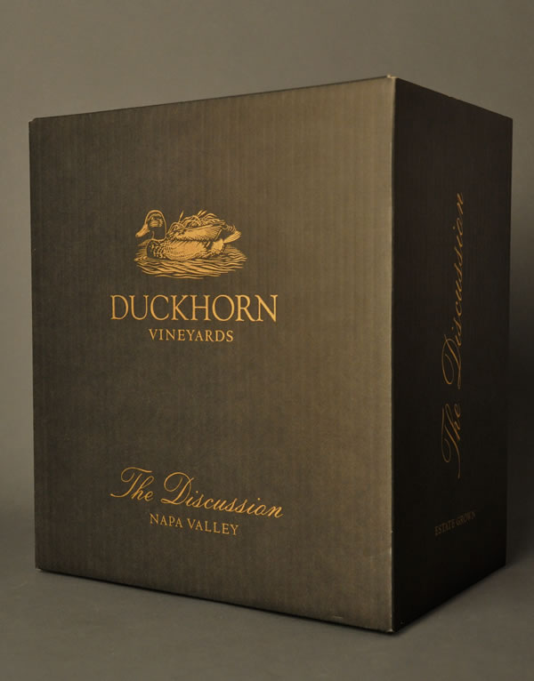 Duckhorn Wine The Discussion Shipper Design