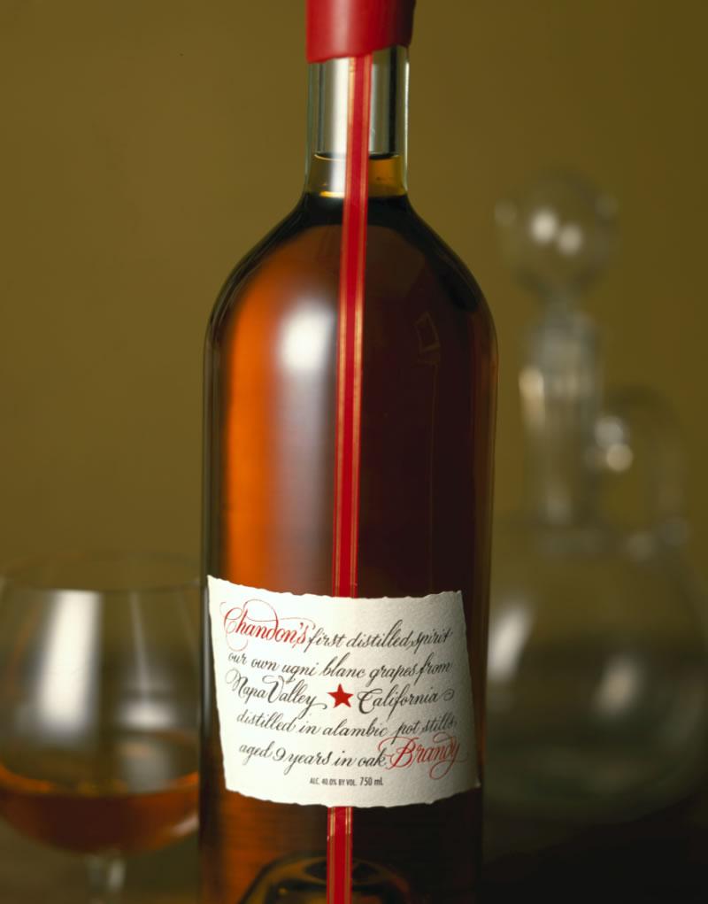 Domaine Chandon Brandy Packaging Design & Logo