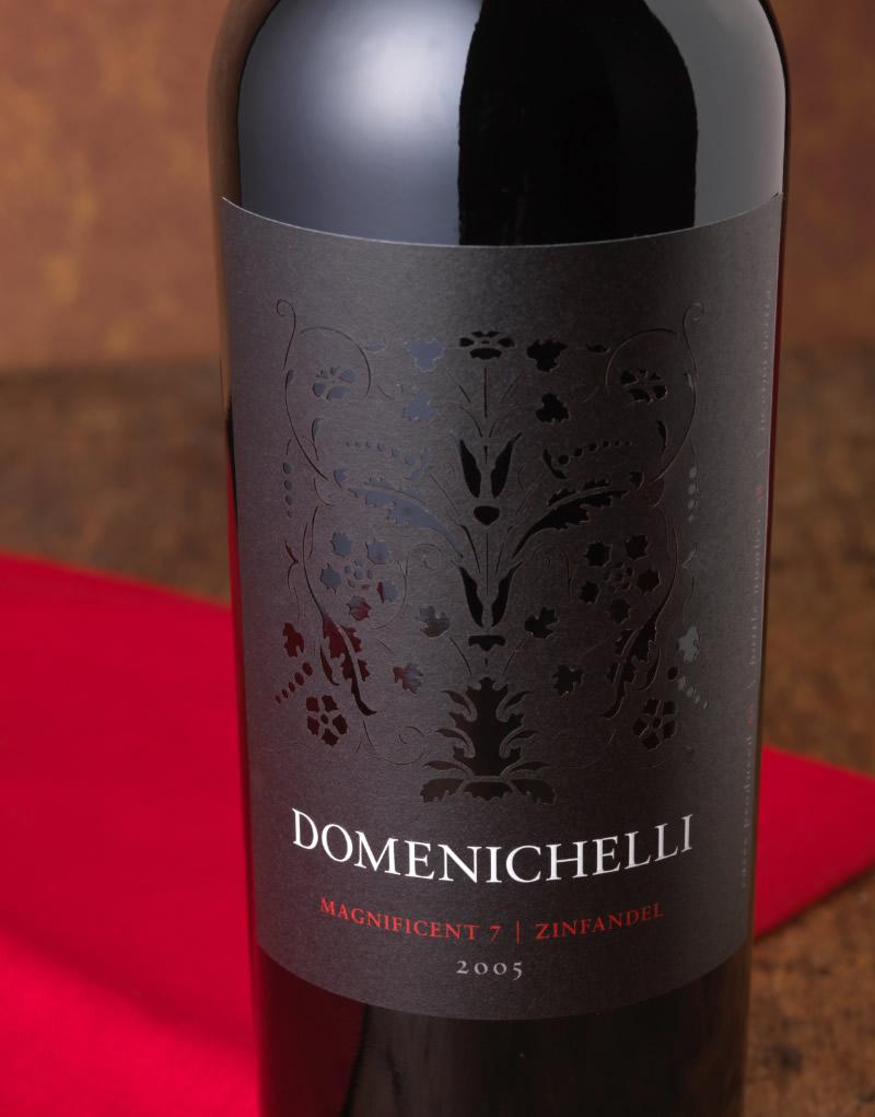 Domenichelli Wine Packaging Design & Logo