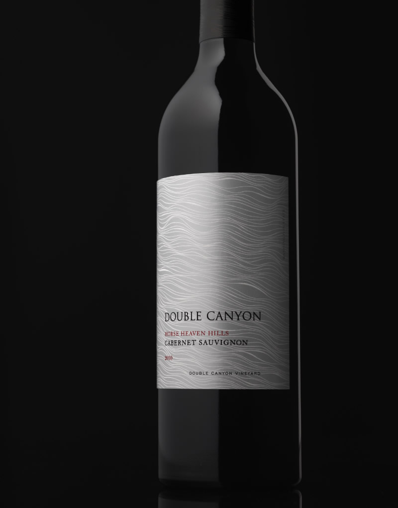 Double Canyon Wine Packaging Design & Logo