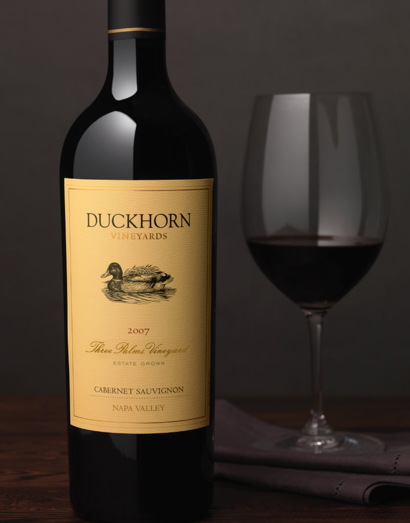 Duckhorn Wine Packaging Design & Logo Vineyard Designate