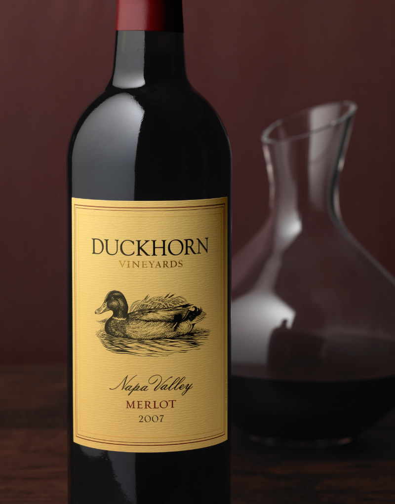 Duckhorn Wine Packaging Design & Logo