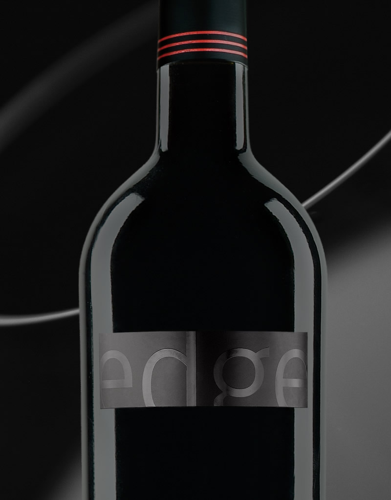 Edge Wine Packaging Design & Logo