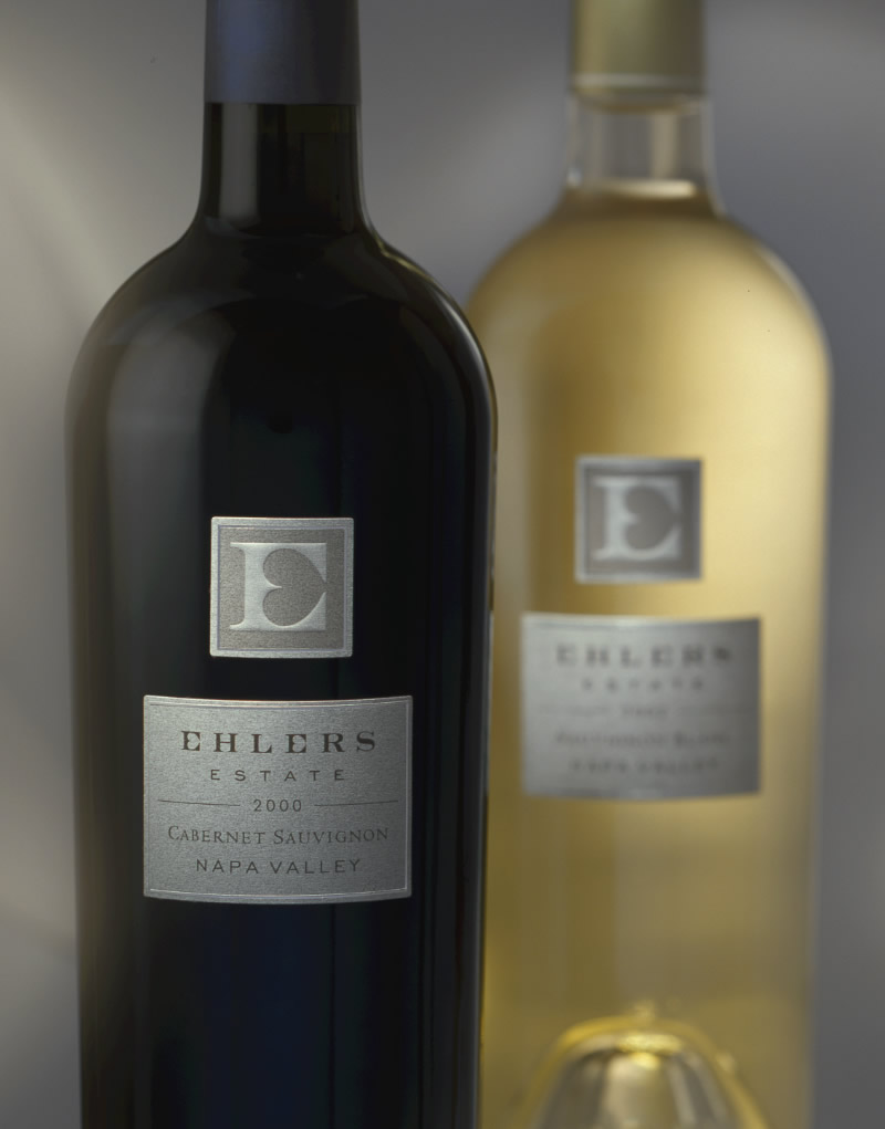 Ehlers Estate Wine Packaging Design & Logo