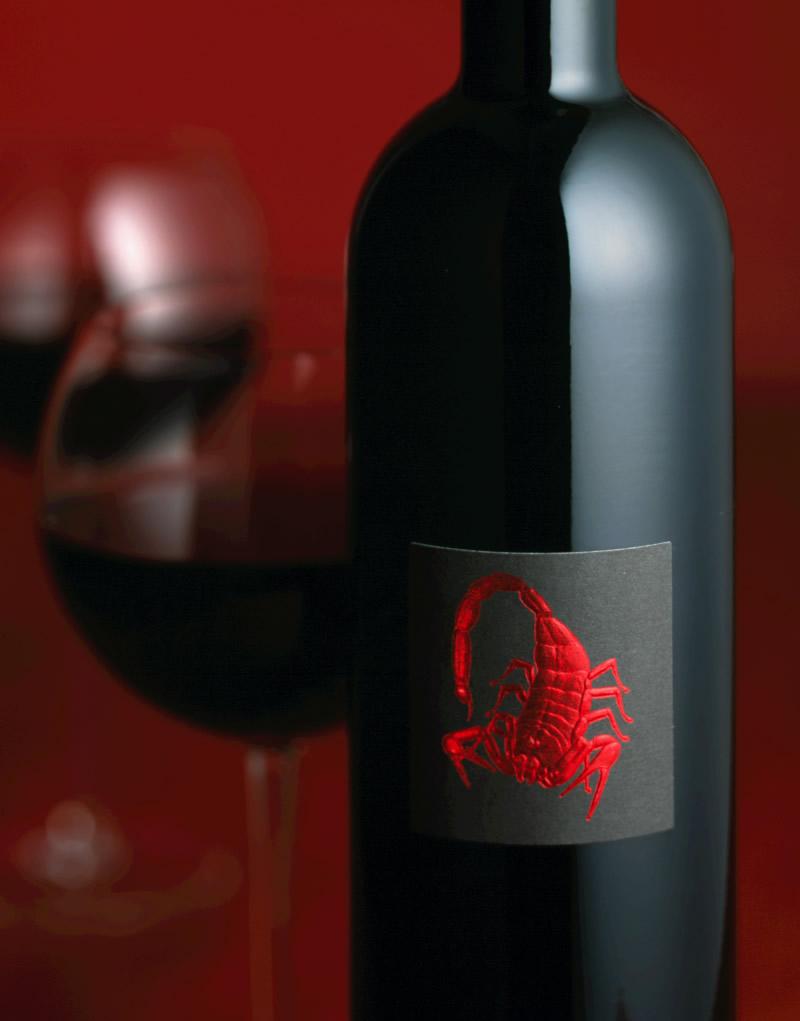 El Alacrán Wine Packaging Design & Logo