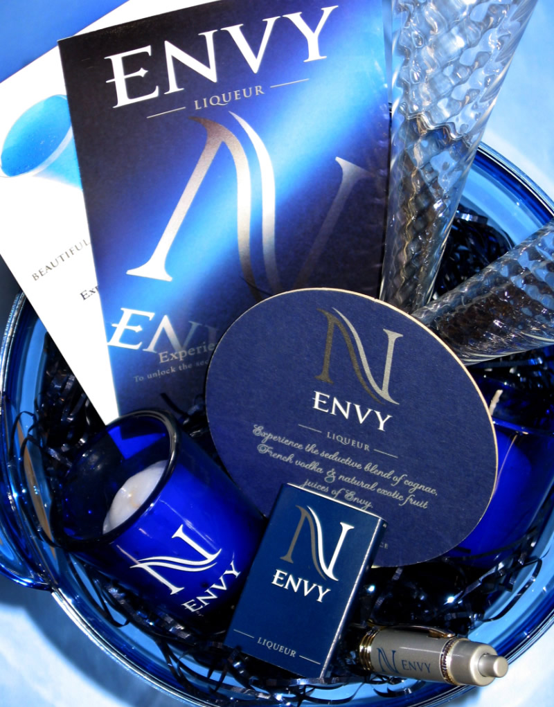 Envy Launch Party Kit Design