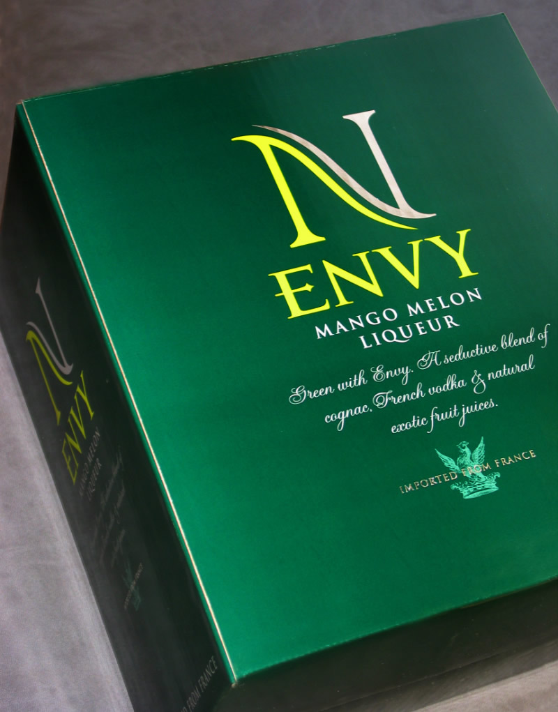 Envy Melon Shipper Design