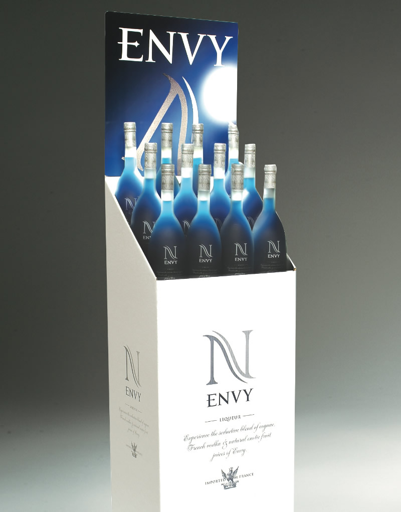 Envy Point of Sale Display Design