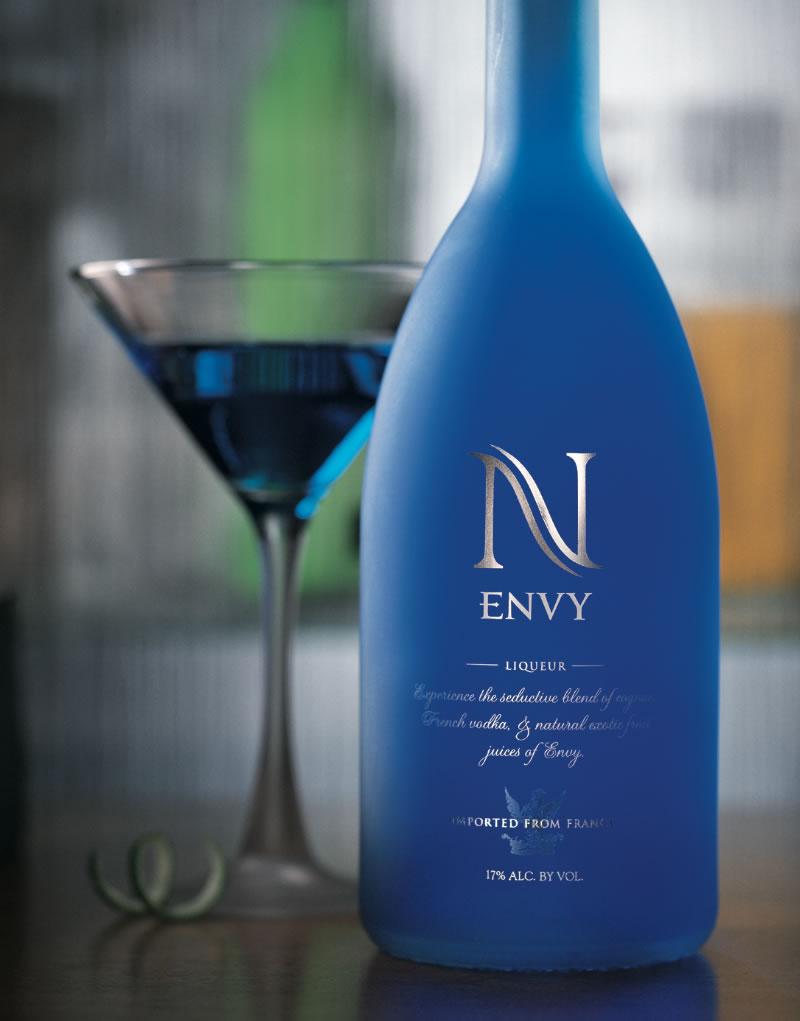 Envy Spirits Packaging Design & Logo