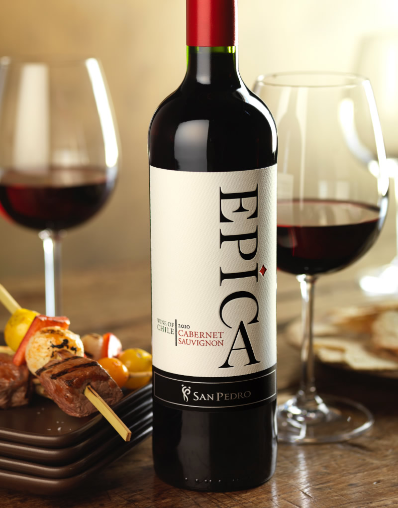 Epíca Wine Packaging Design & Logo