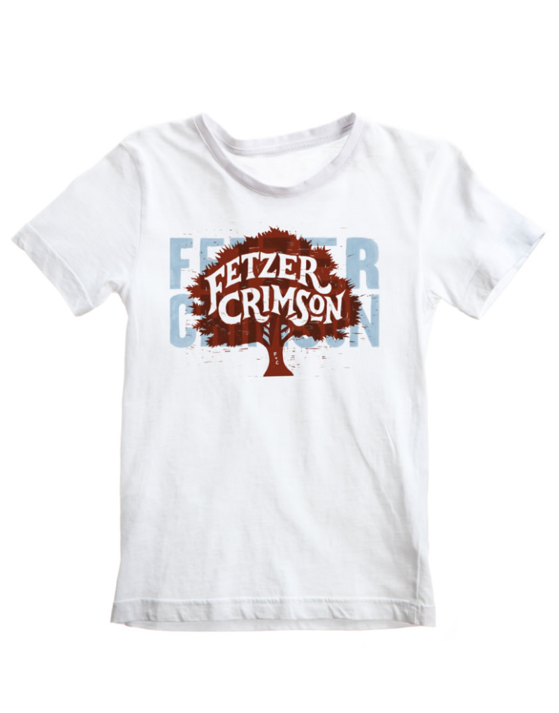 Fetzer Crimson T-Shirt Design