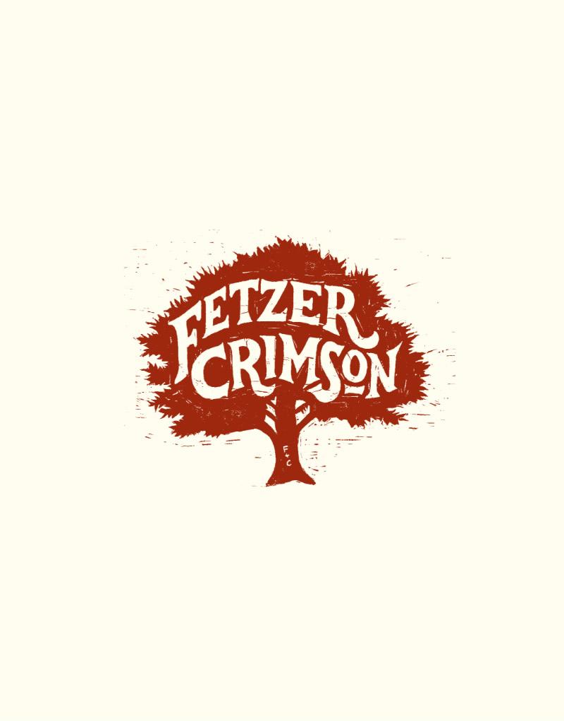 Fetzer Crimson Logo Design