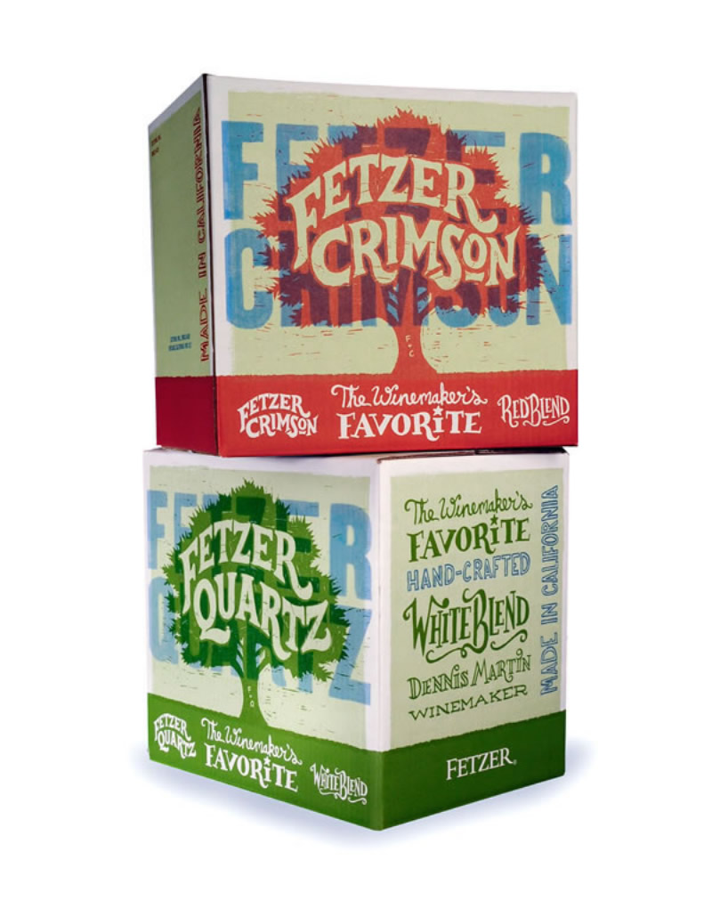 Fetzer Crimson & Quartz Shipper Design