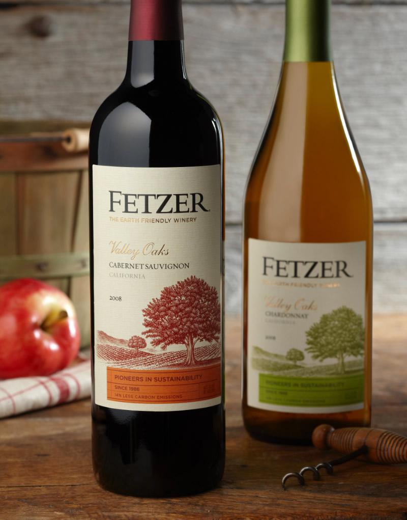 Fetzer Wine Packaging Design & Logo 2011 Design