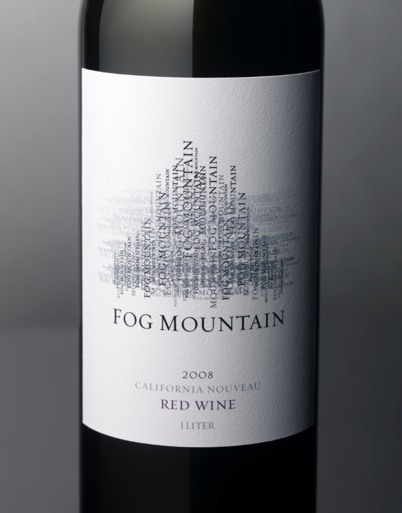 Fog Mountain Wine Packaging Design & Logo