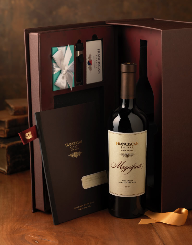 Franciscan Estate Gift Box Design
