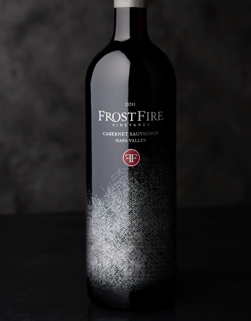 FrostFire Wine Packaging Design & Logo