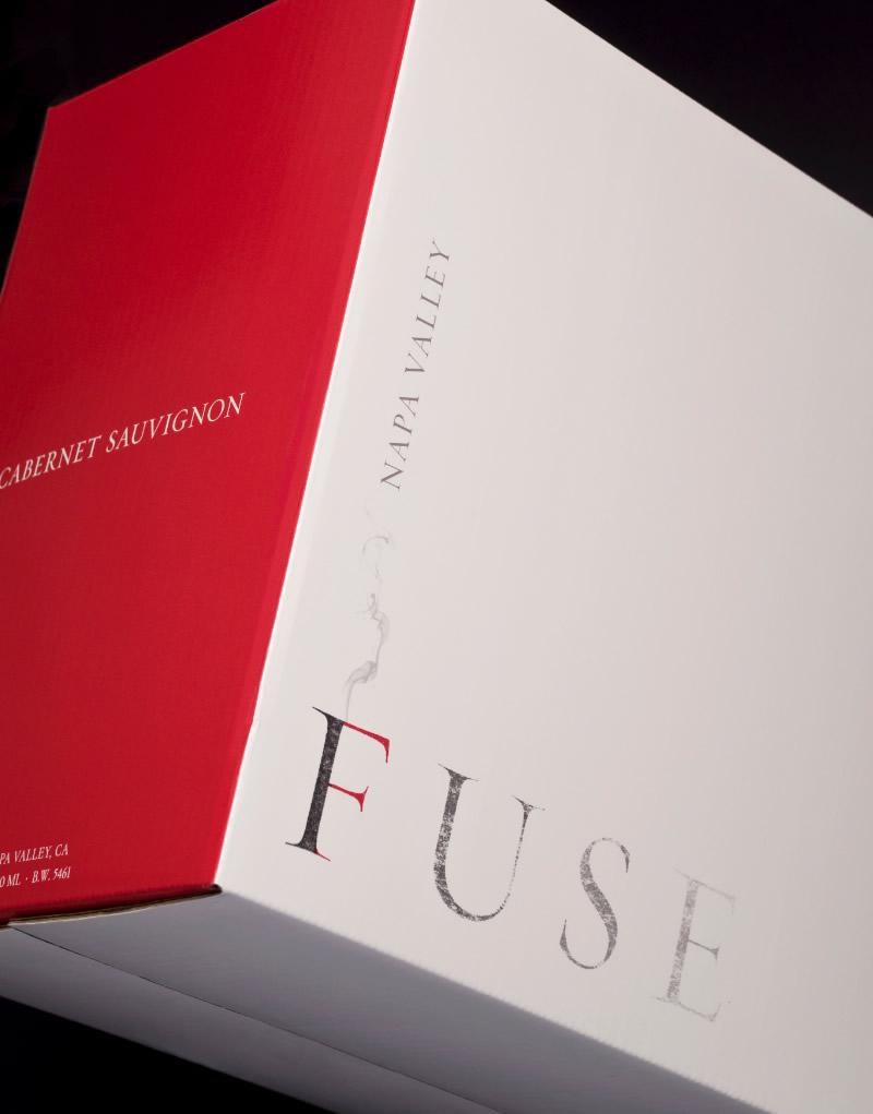 Fuse White & Red Shipper Design