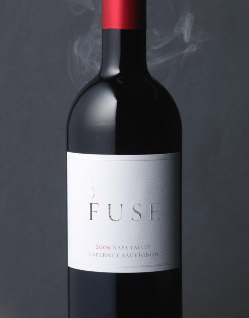 Fuse Wine Packaging Design & Logo White Label